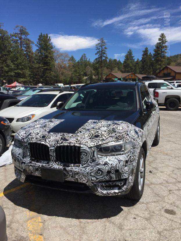 2018 BMW X3 spied 02 e1497280834172 623x830