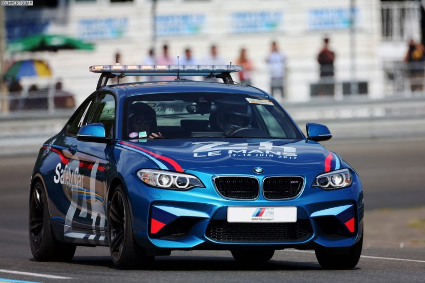 24h Le Mans 2017 BMW M2 Safety Car 06 830x553