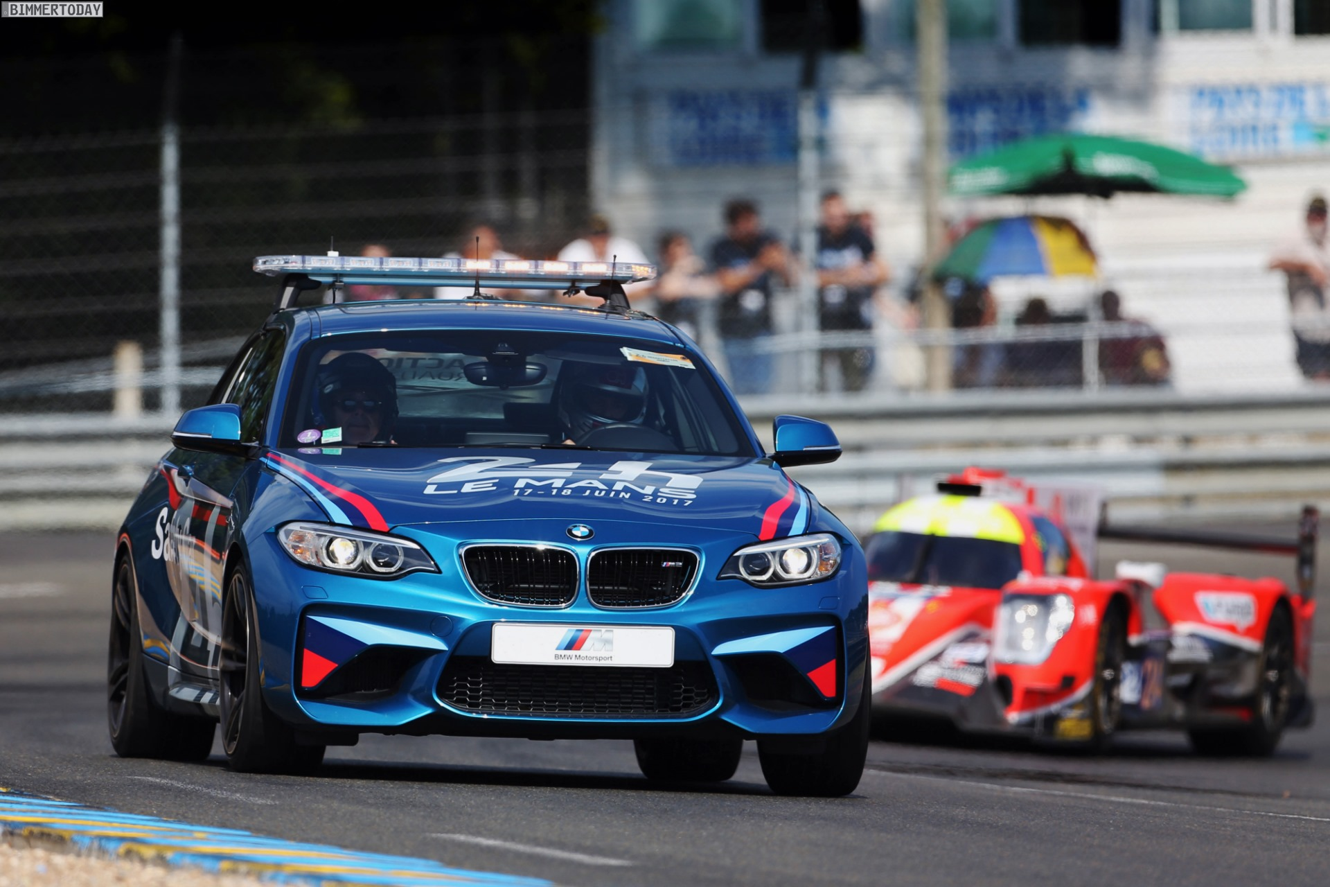 Bmw Provides The Official Fleet Of Cars At 24 Hrs Of Le Mans