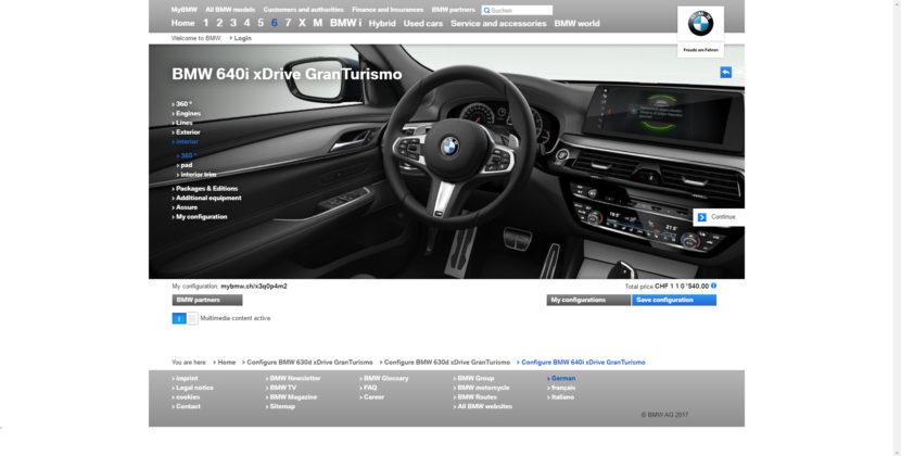 BMW 6 Series Gran Turismo 830x420