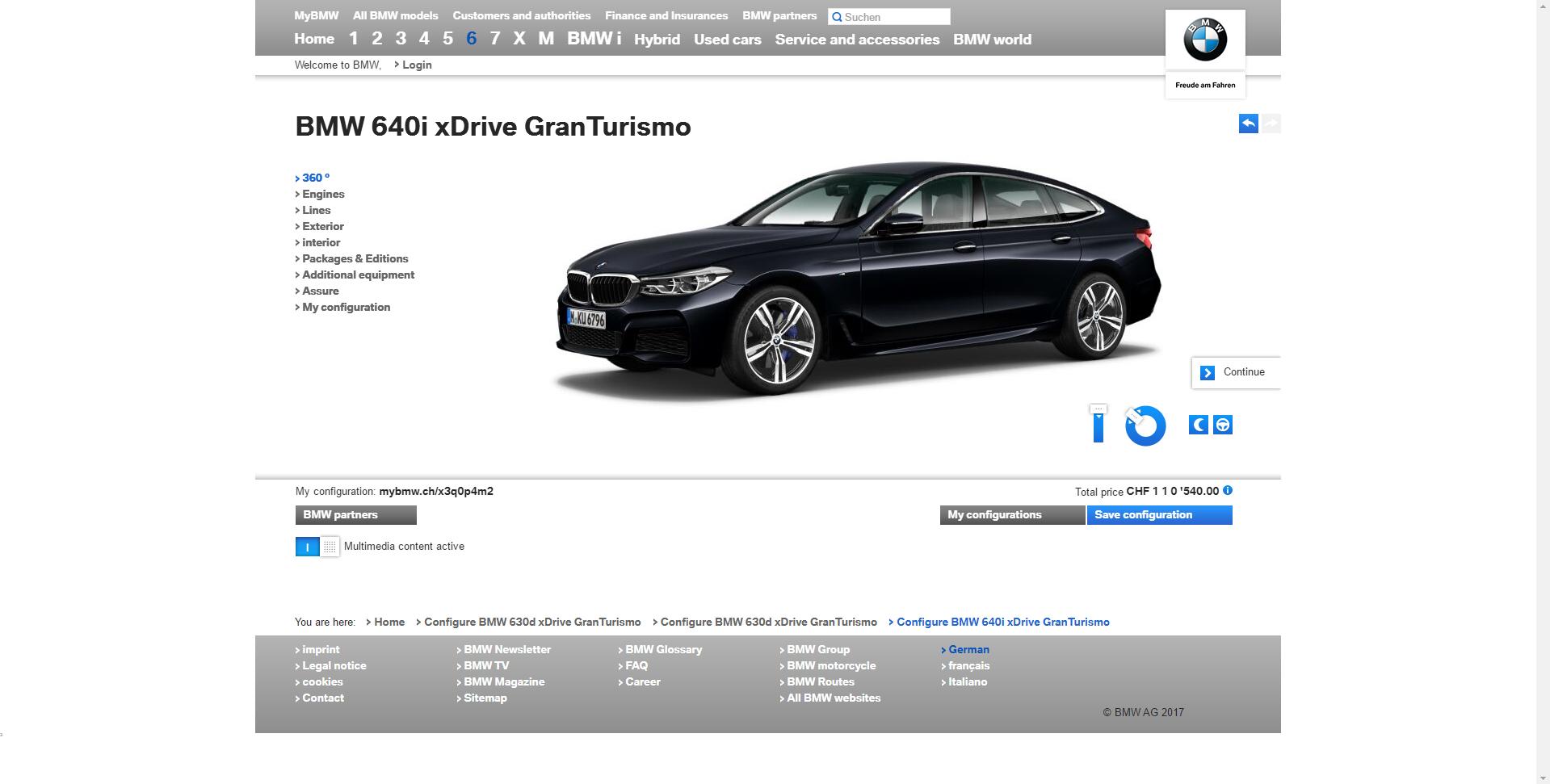 BMW 6 Series Gran Turismo2