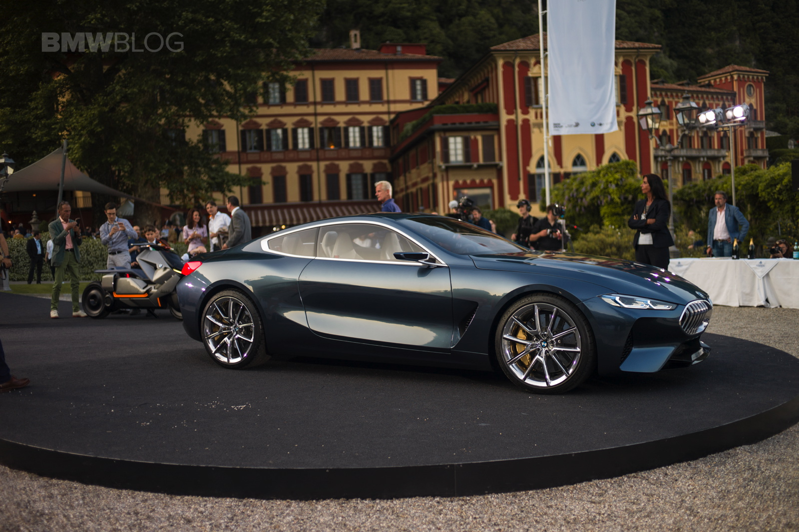 here is another real life look at the bmw concept 8 series. Black Bedroom Furniture Sets. Home Design Ideas