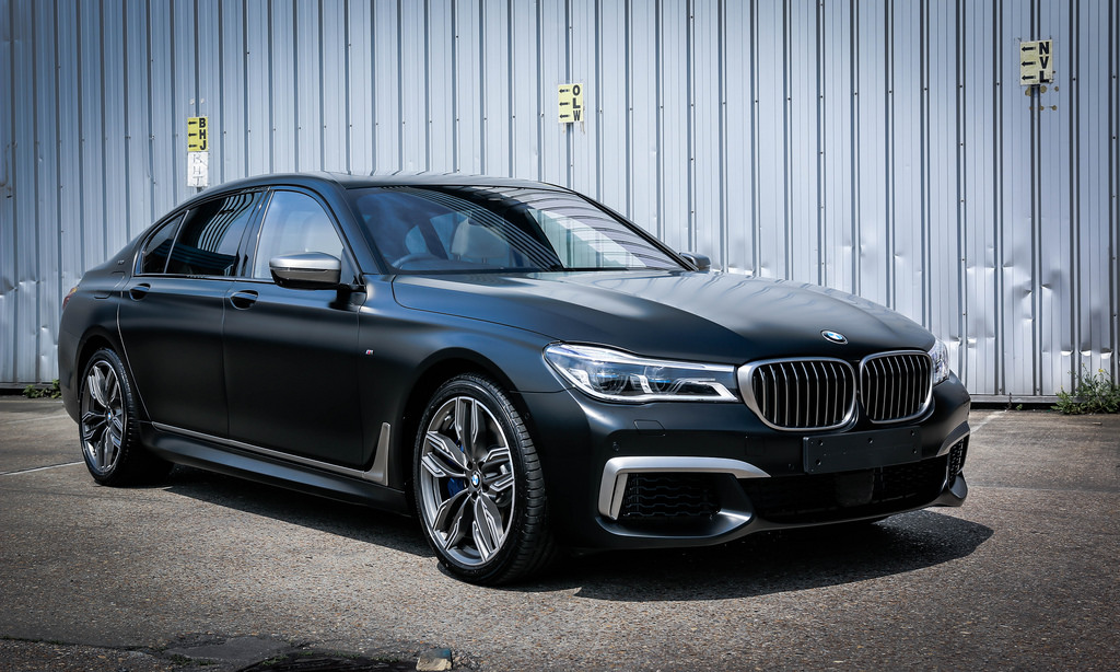 BMW M760Li Frozen Black 1