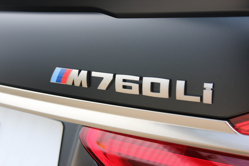 BMW M760Li Frozen Black 9