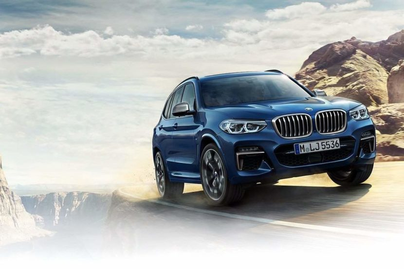 LEAKED: This is the all-new 2018 BMW X3