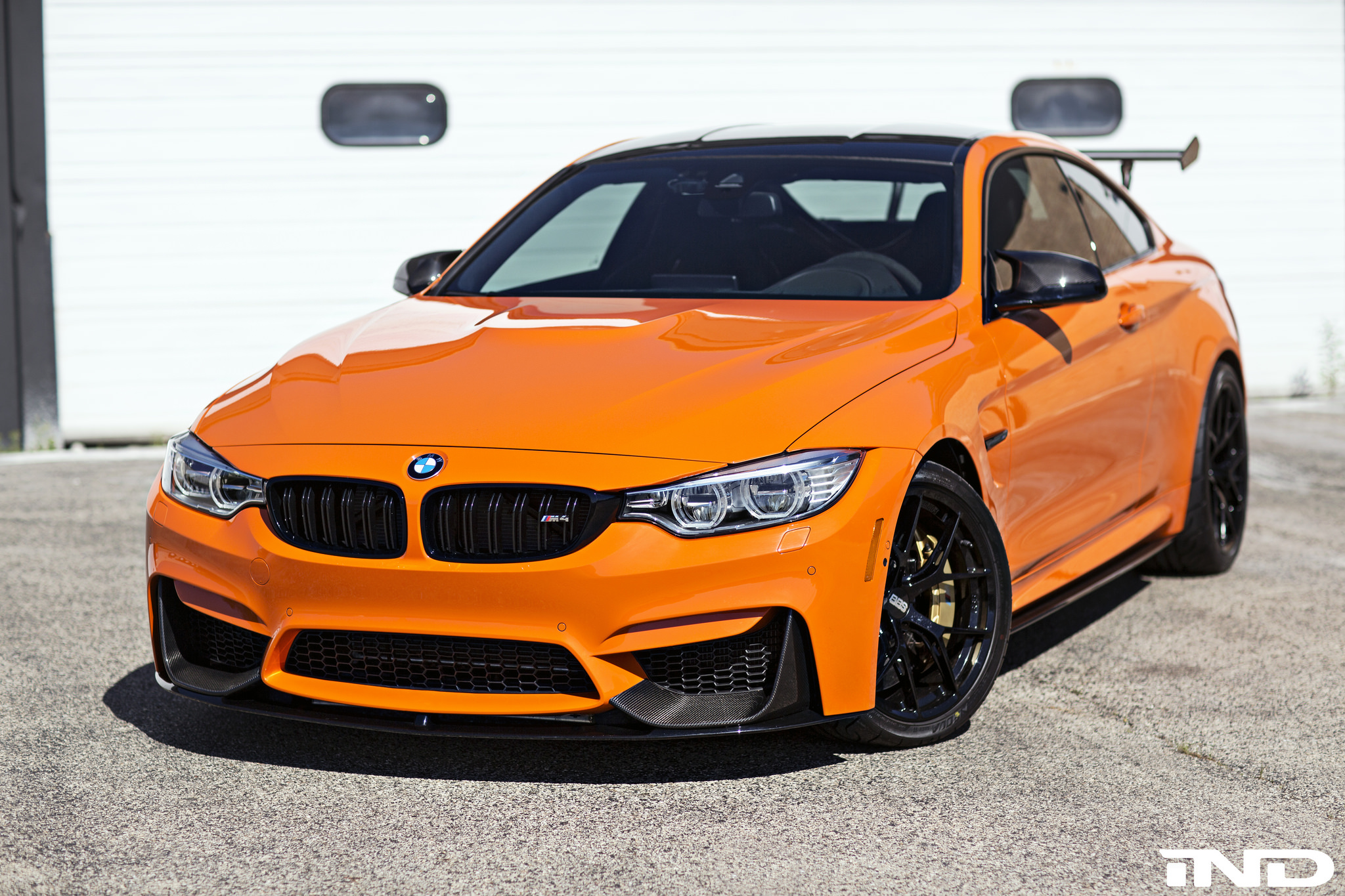 Fire Orange Bmw M4 Modded By Ind Distribution