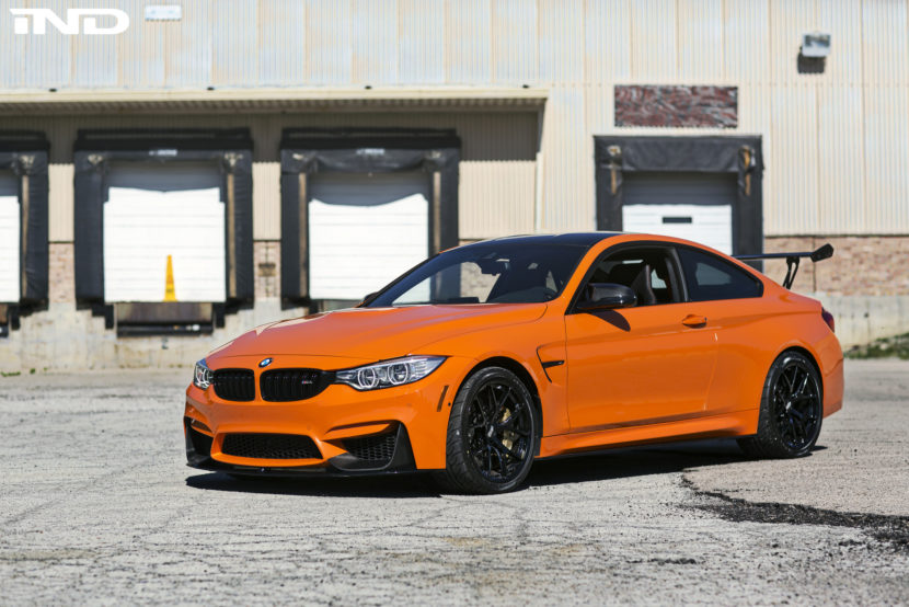 Fire Orange BMW M4 Modded By IND Distribution Image 2 830x554