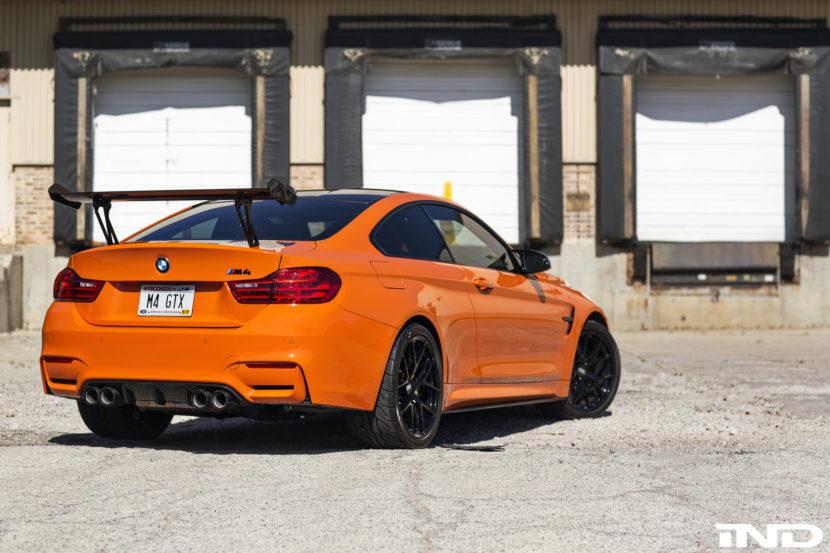 Fire Orange BMW M4 Modded By IND Distribution Image 8 830x553