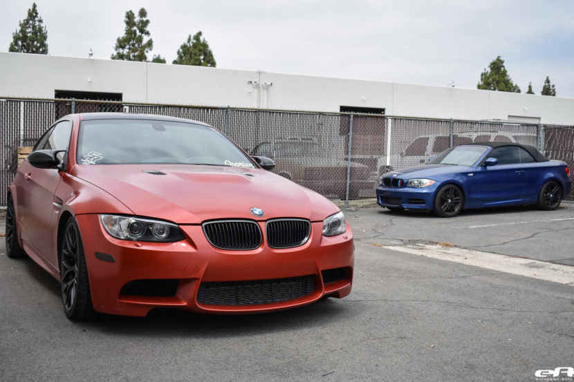 Frozen Red BMW E92 M3 Project By European Auto Source 1 830x553