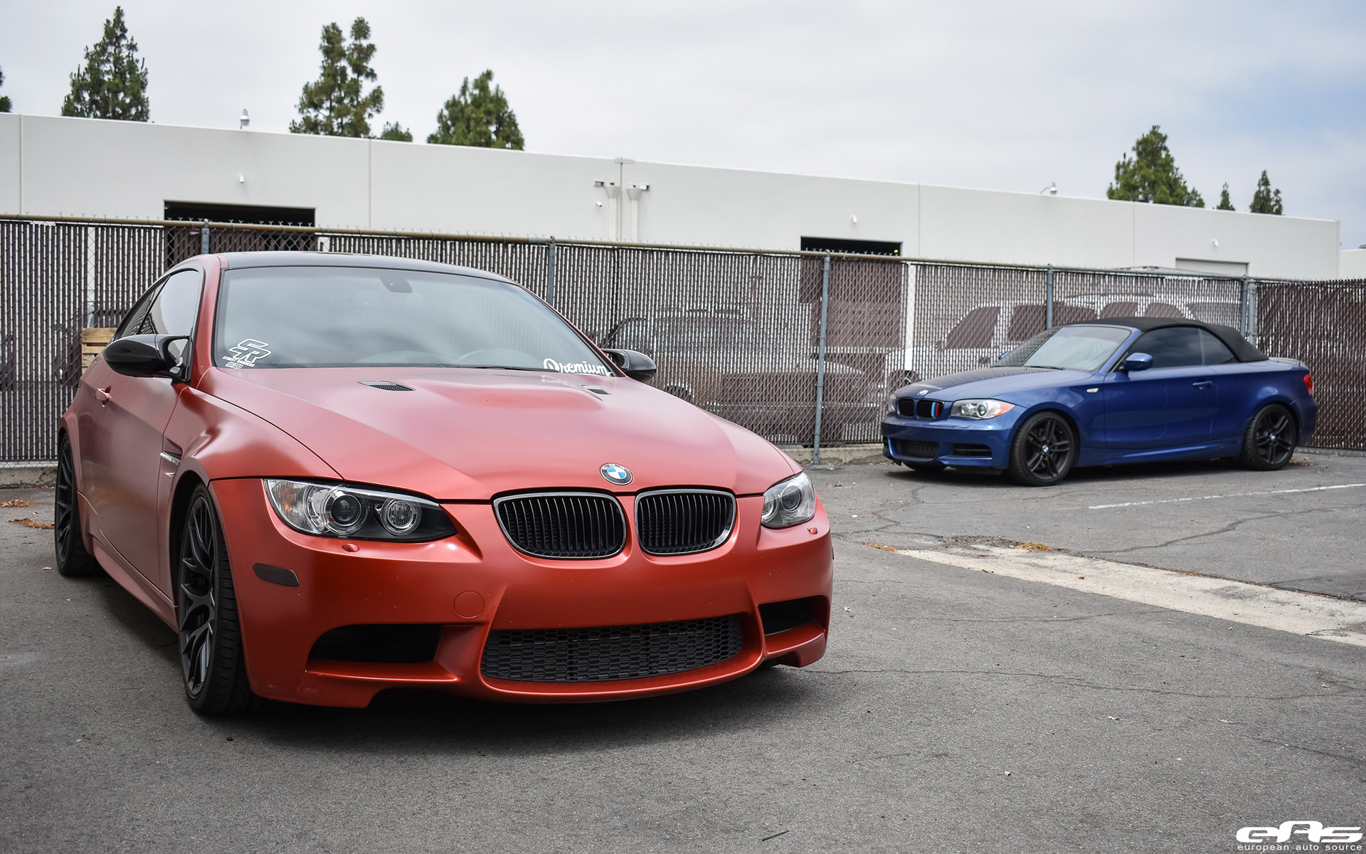 Frozen Red BMW E92 M3 Project By European Auto Source 1