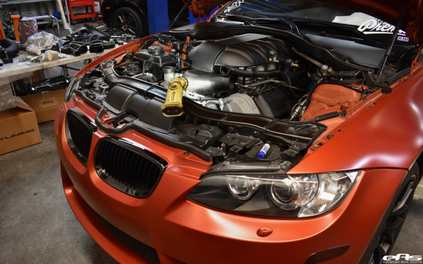 Frozen Red BMW E92 M3 Project By European Auto Source 4 830x519