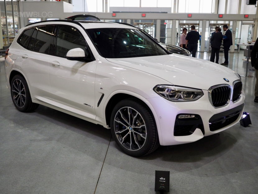 G01 BMW X3 Spartanburg 71 830x623