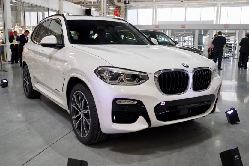 New BMW X3 - Live Photos From Spartanburg plant