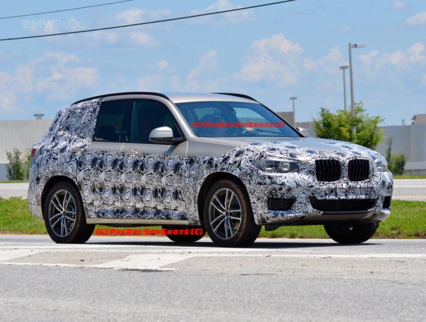 G01 BMW X3 spied spartanburg 01 830x628