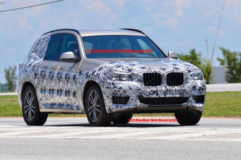 G01 BMW X3 spied spartanburg 05 830x553