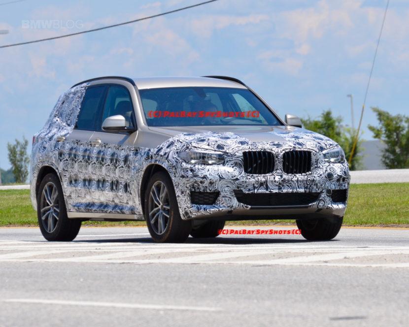 G01 BMW X3 spied spartanburg 05 830x664