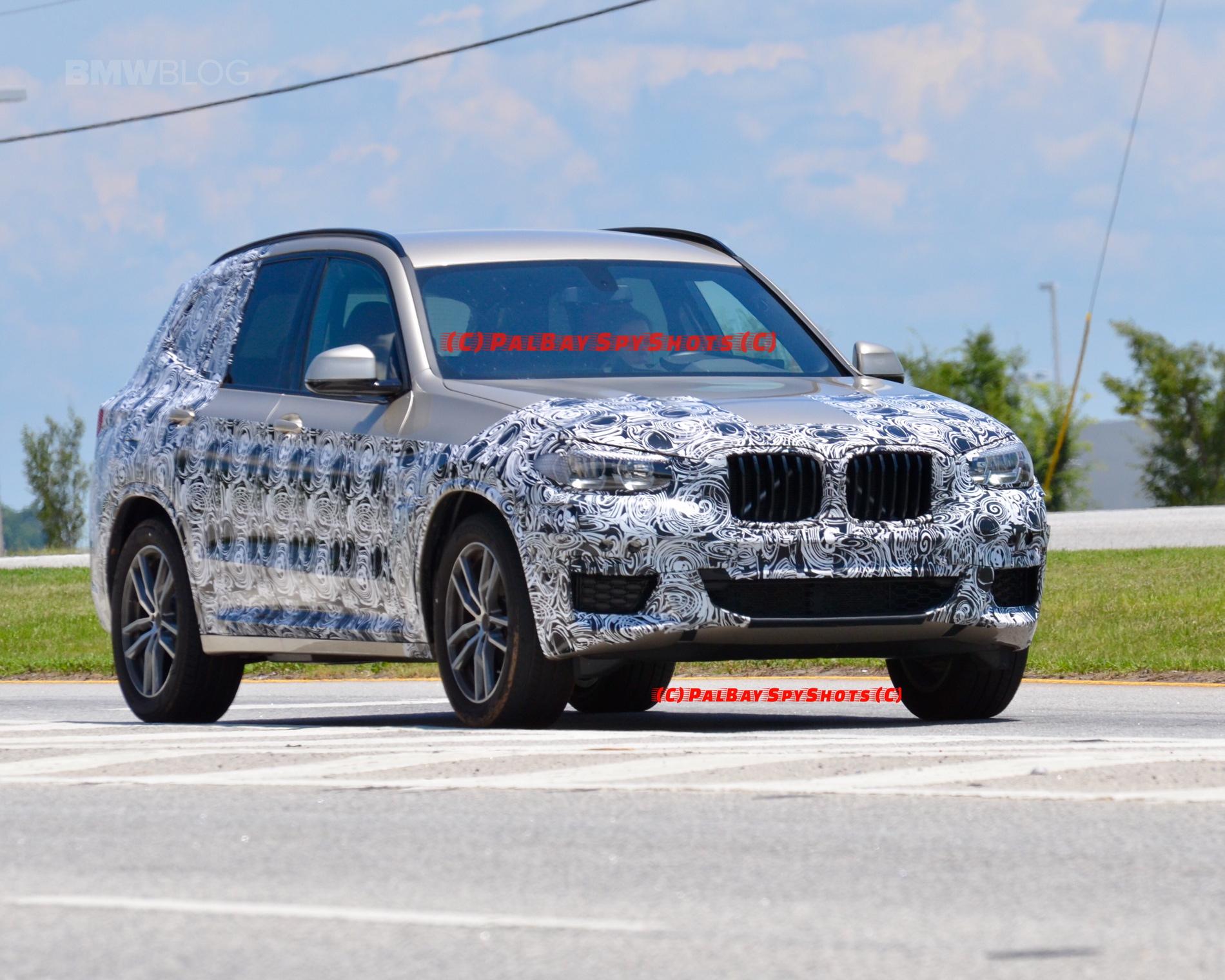 G01 BMW X3 spied spartanburg 05