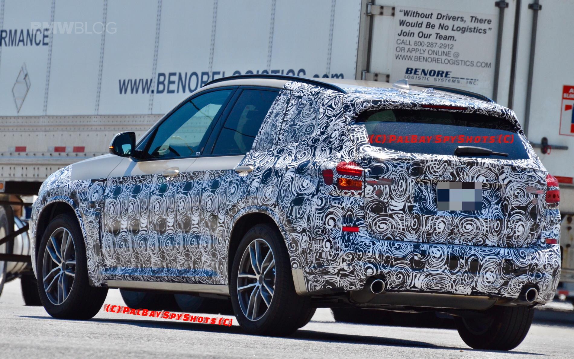G01 BMW X3 spied spartanburg 07