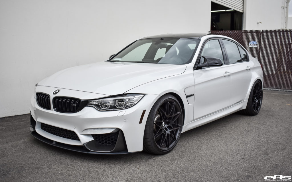 bmwm3_A Mineral White BMW M3 ZCP Gets M Performance Parts Installed