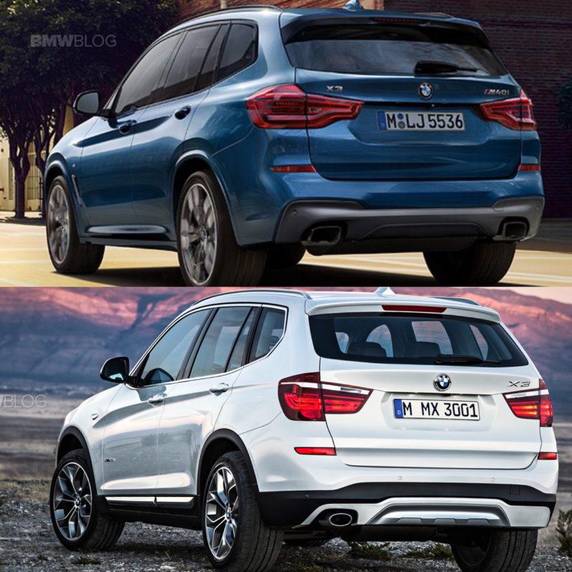 New BMW X3 vs old bmw x3 03 830x830