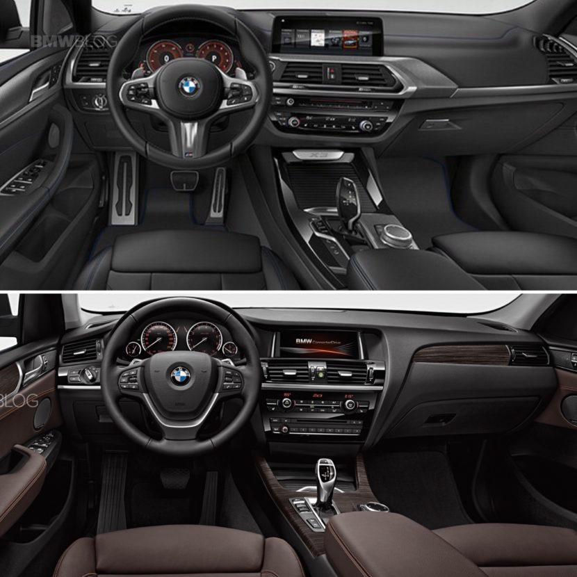 New BMW X3 vs old bmw x3 04 830x830