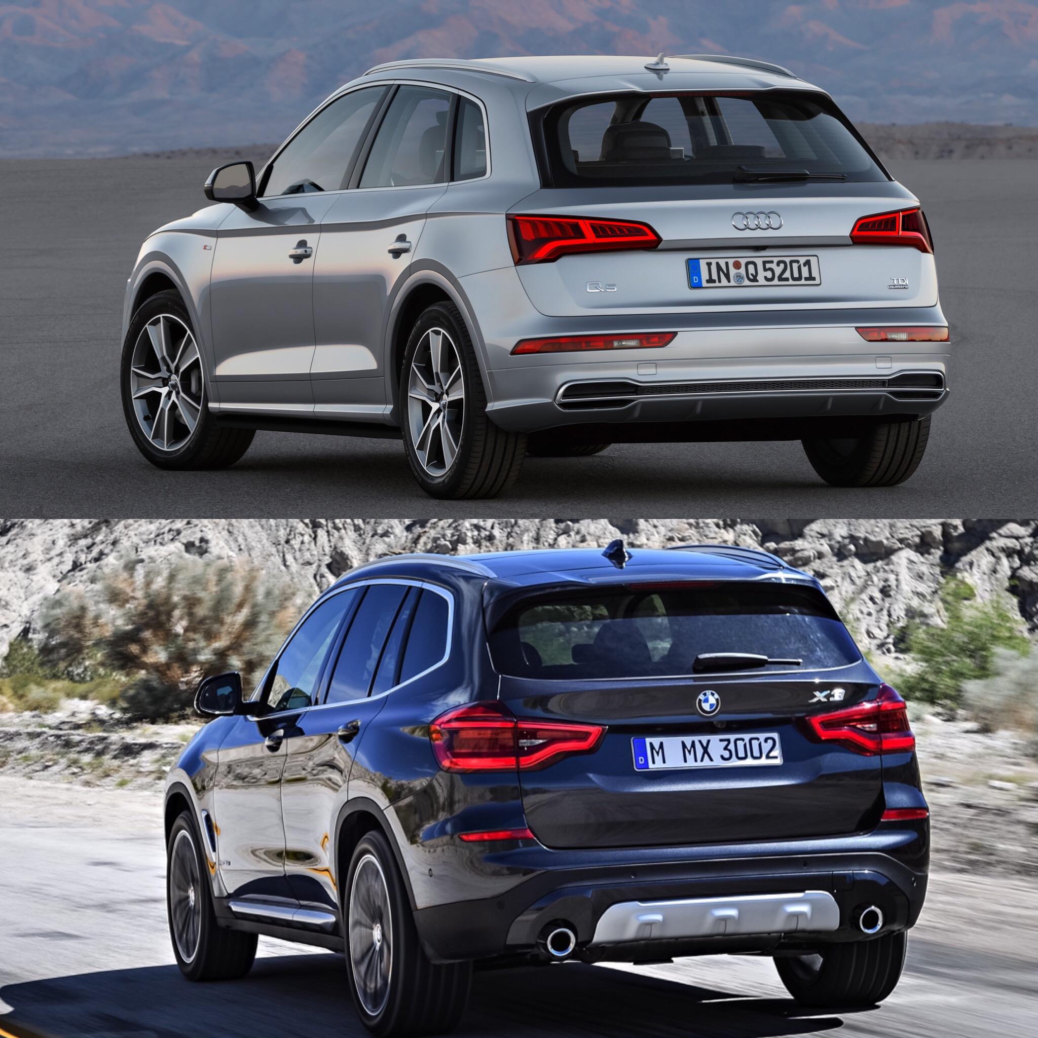 Photo Comparison: G01 BMW X3 xDrive30ivs Audi Q5 2.0T
