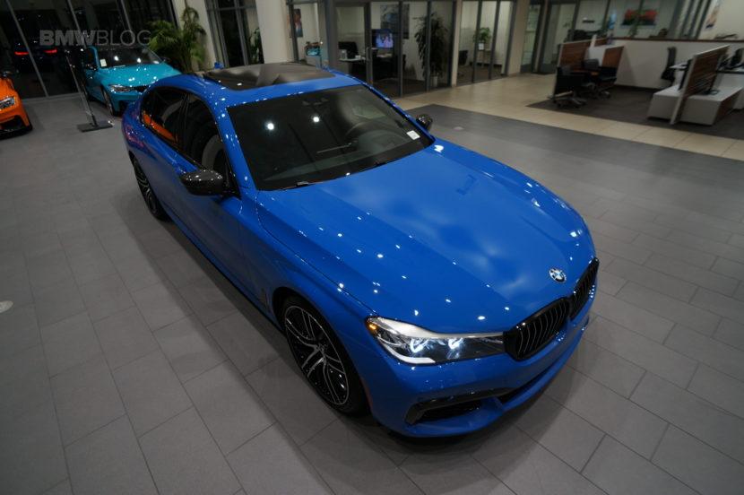 Santorini Blue BMW 740i 21 830x552