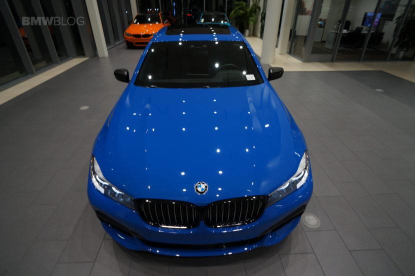 Santorini Blue BMW 740i 26 830x552