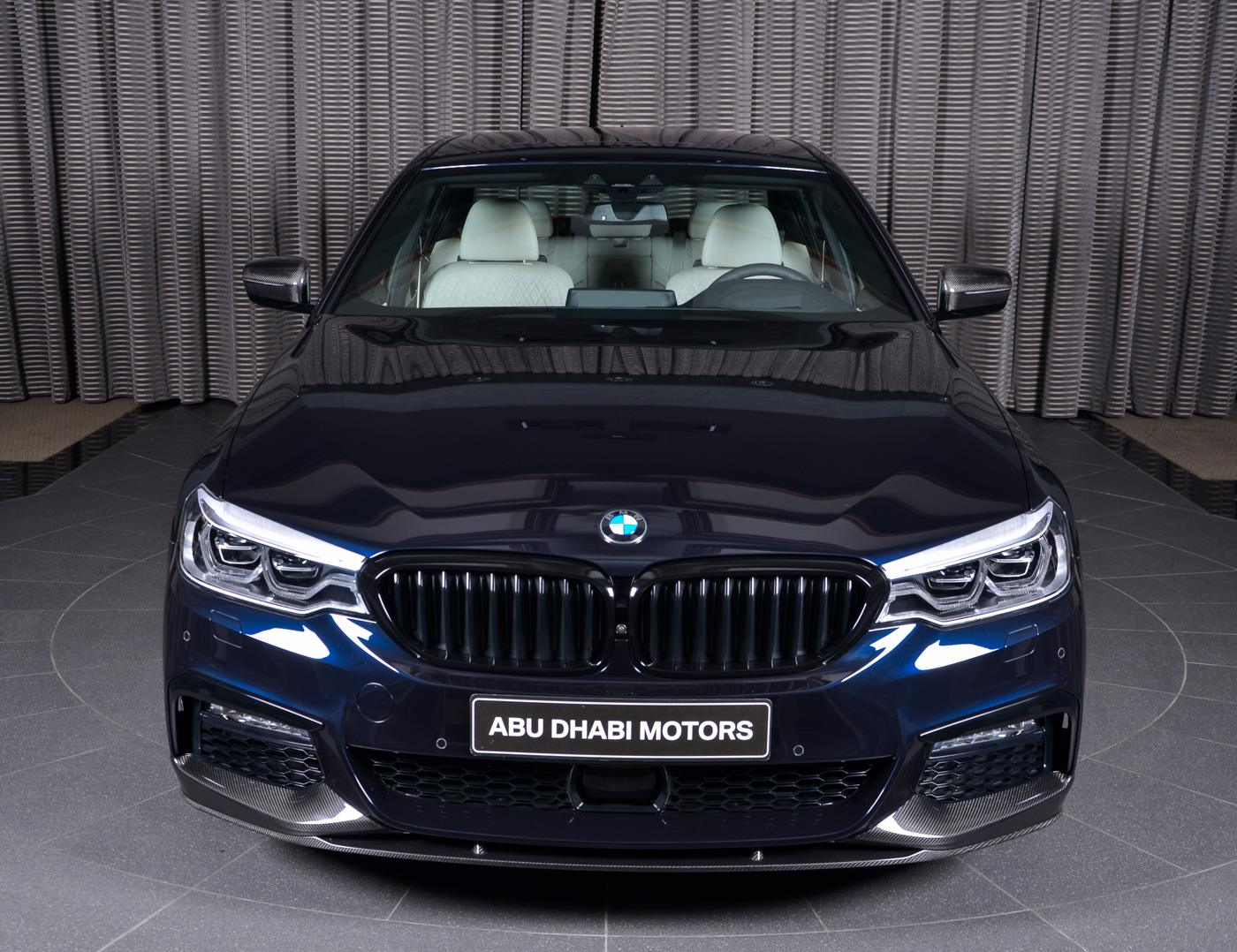 Bmw 540i Decked With M Performance Parts Hails From Abu Dhabi