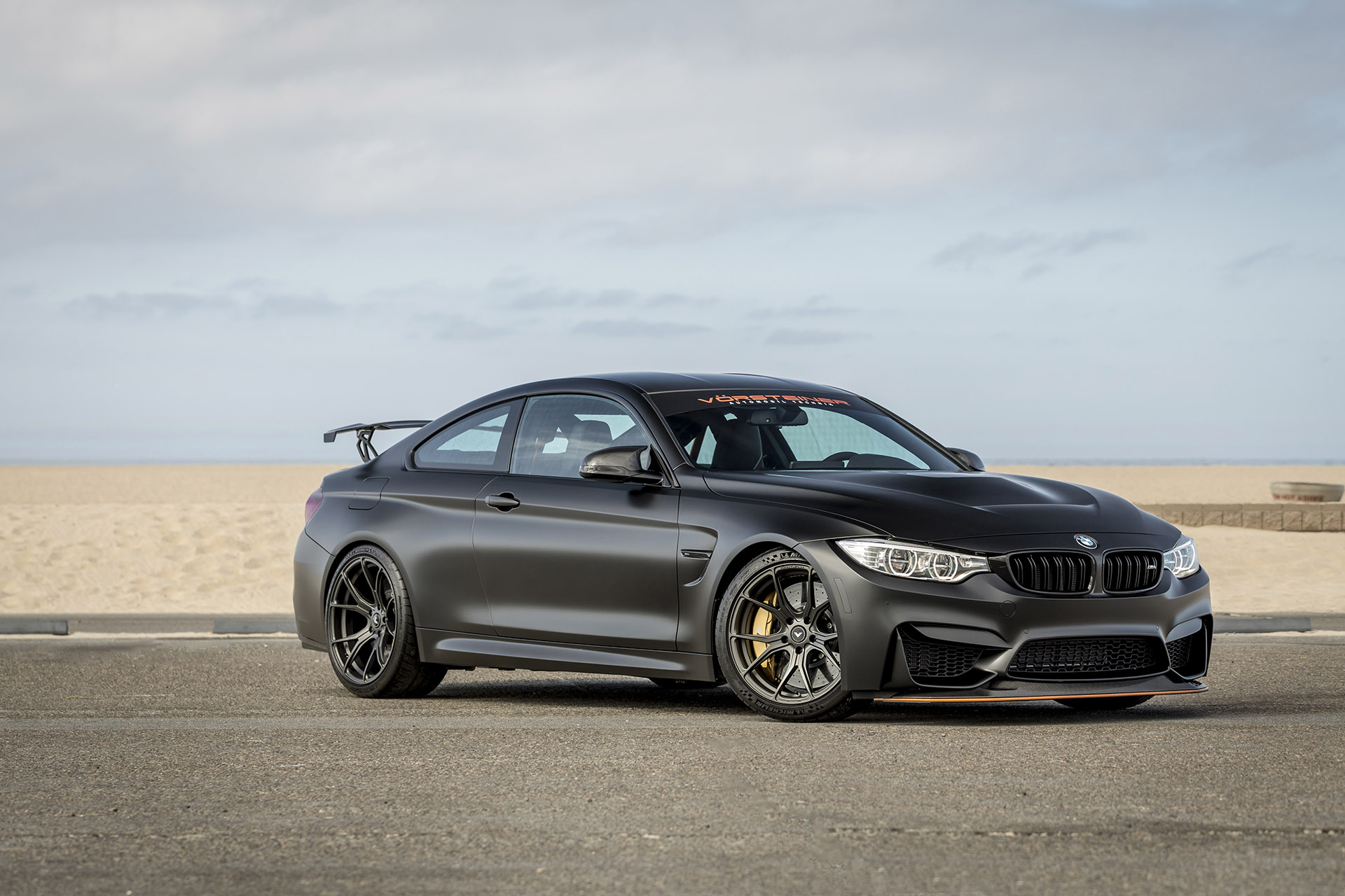 Vorsteiner Relaeses The Bmw M4 Gts V Rear Wing