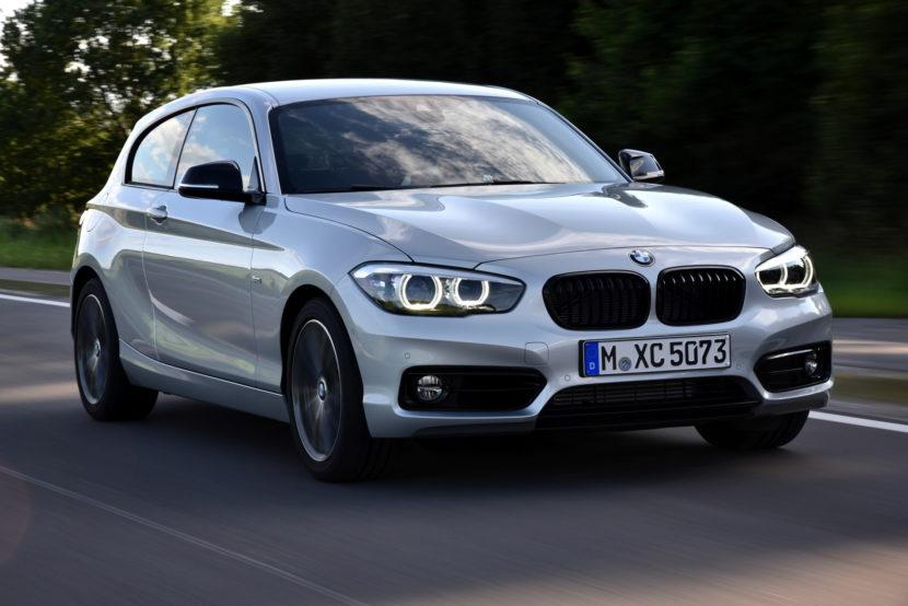 2017 BMW 1 Series hatchback 3 door 09 830x554
