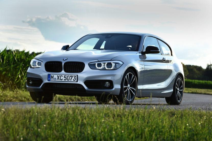 2017 BMW 1 Series hatchback 3 door 18 830x554