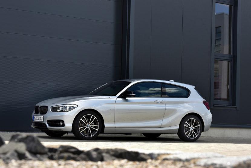 2017 BMW 1 Series hatchback 3 door 34 830x554