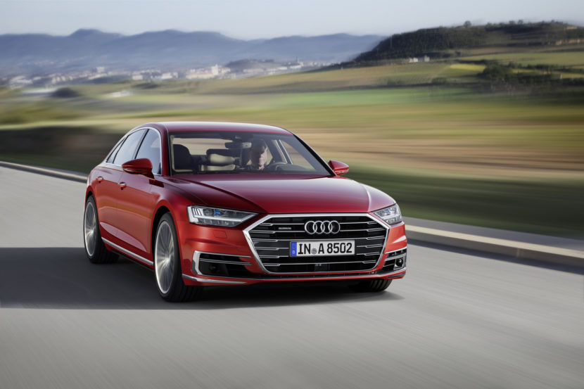 How Does The New Audi A Stack Up With Series - Audi a 9