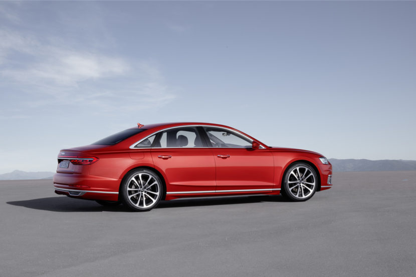 How Does The New Audi A Stack Up With Series - Audi a 8