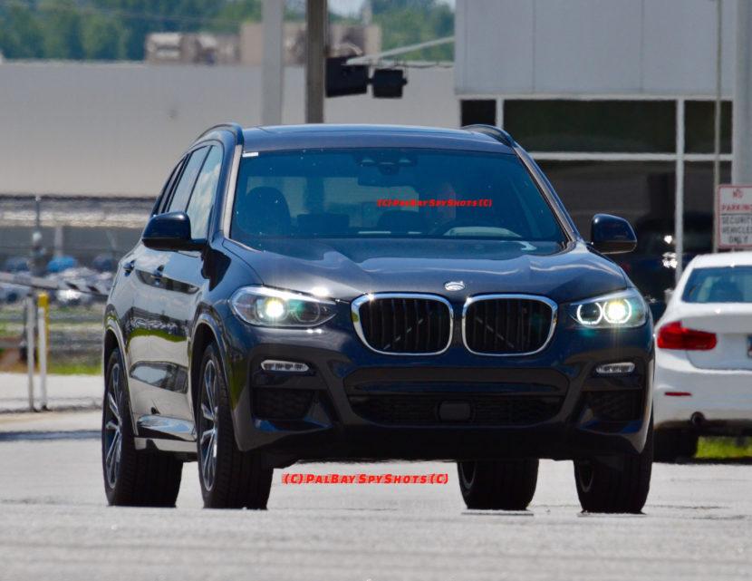 Bmw Plant Spartanburg >> Real Life Photos: 2018 BMW X3 M Sport Model