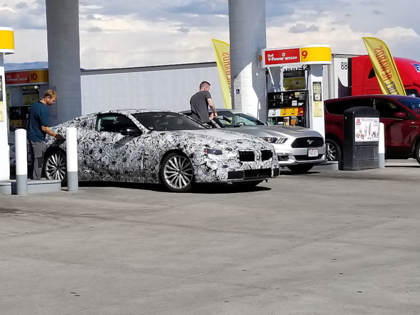 2019 BMW 8 Series Coupe 1 830x623