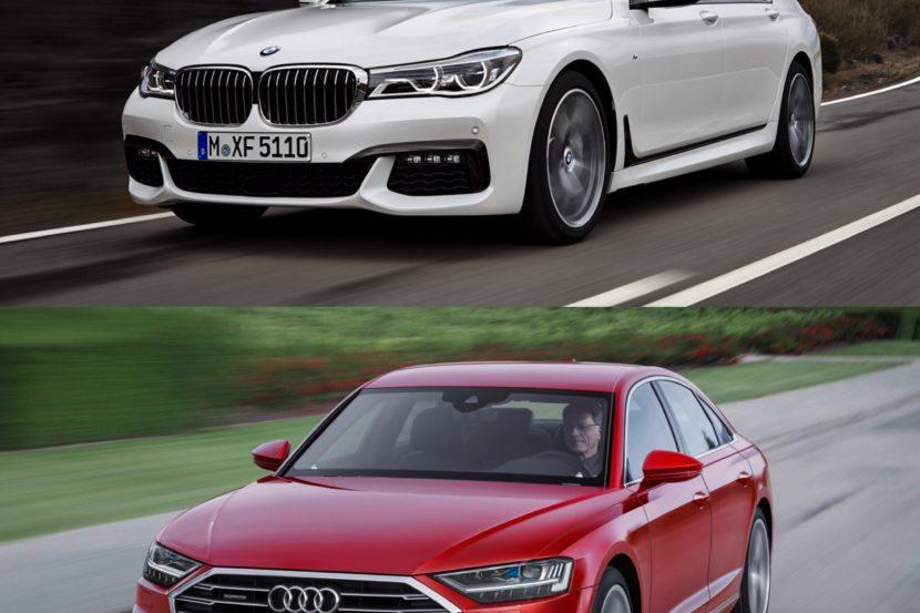 Photo Comparison Bmw 7 Series Vs 2018 Audi A8