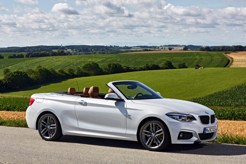 BMW 220d Convertible facelift 37 830x553