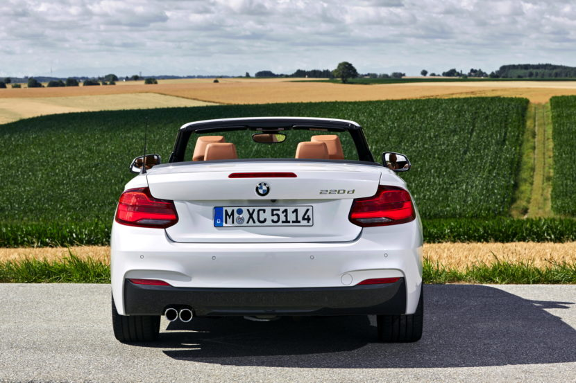 BMW 220d Convertible facelift 39 830x553