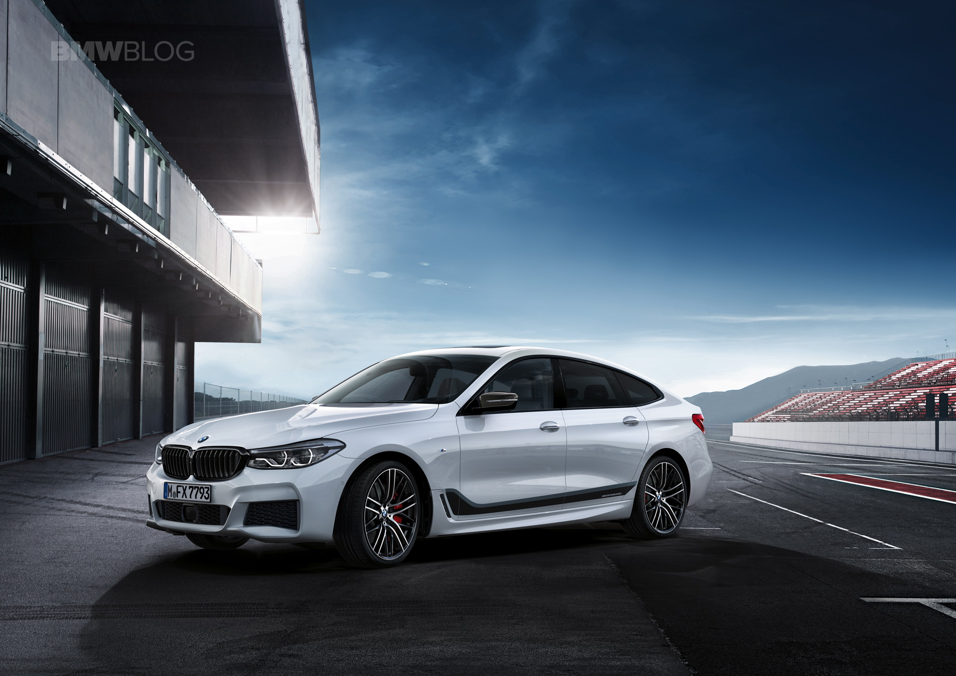 Bmw M Performance Parts For The New Bmw 6 Series Gran Turismo