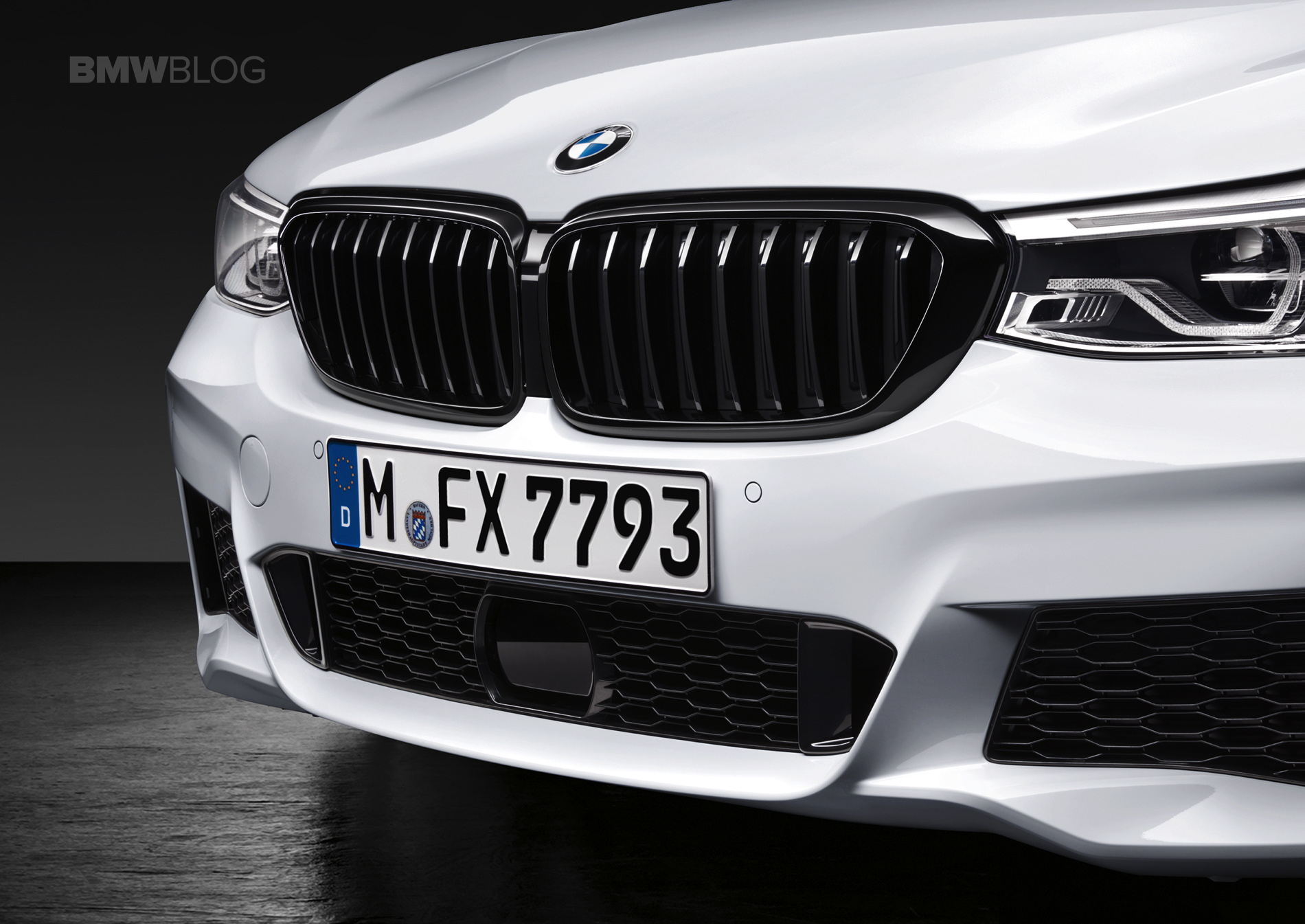 BMW M Performance Parts for the new BMW 6 Series Gran Turismo 08