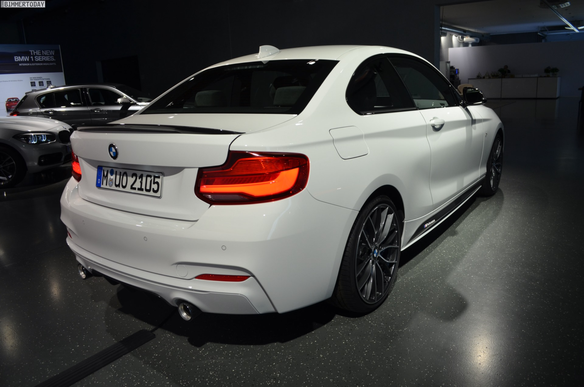 Bmw M Performance 2017 M240i Facelift With Tuning Accessories