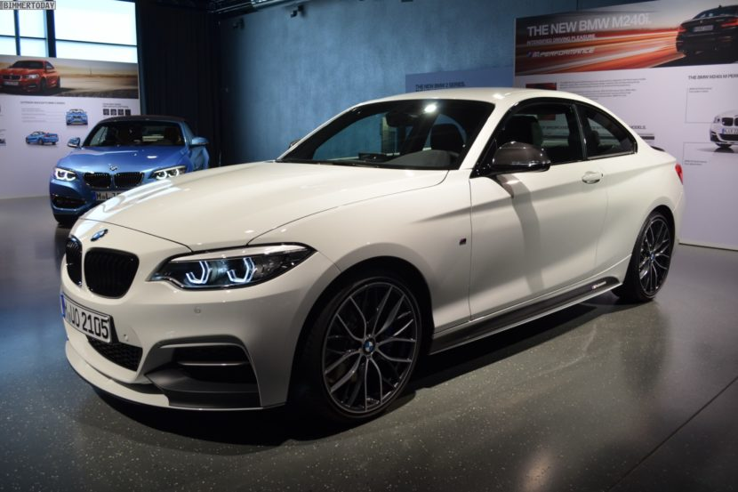 BMW M240i Facelift M Performance parts 7 830x553