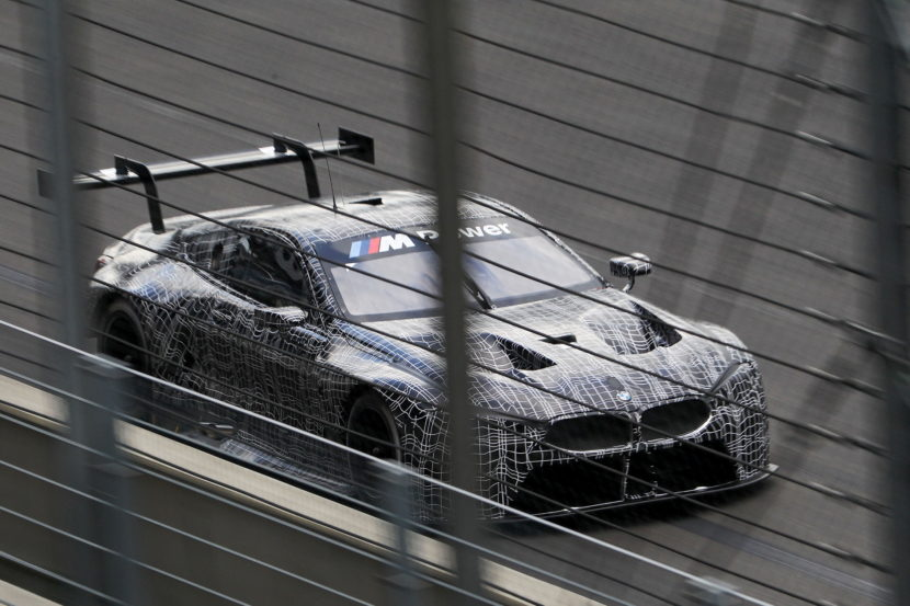 BMW M8 GTE tests 02 830x553