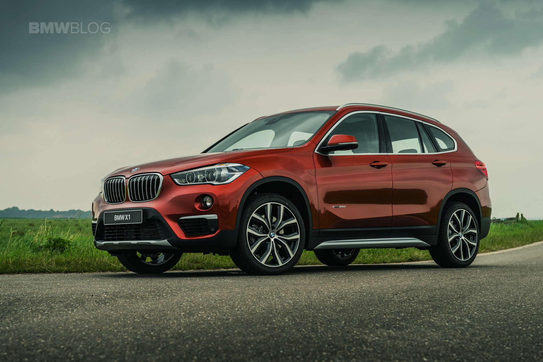 2017 Bmw X1 Orange Edition Special Model In The Netherlands