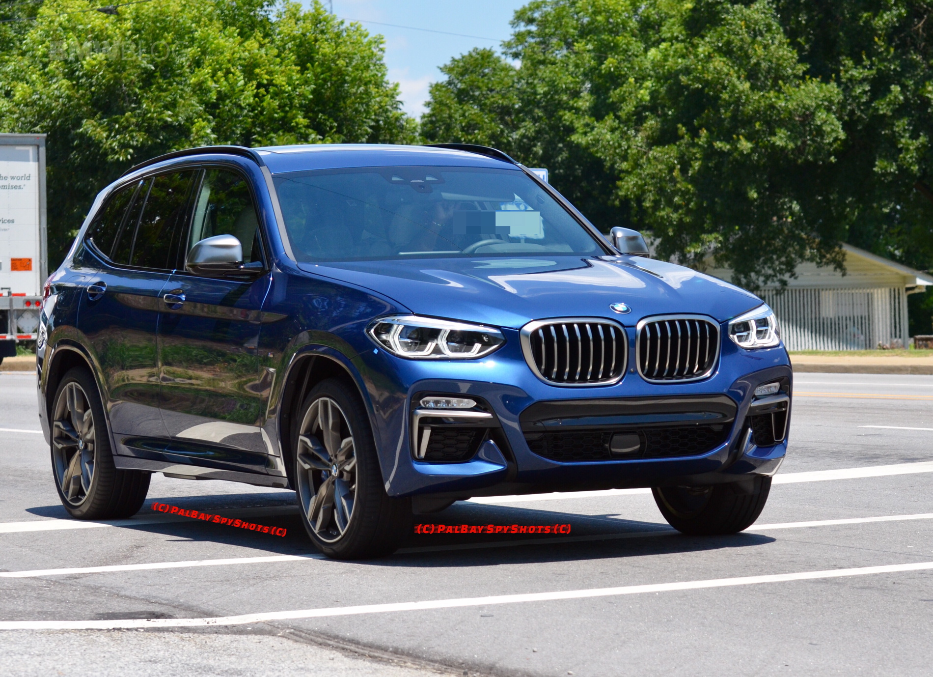 new bmw x3 m40i seen for the first time on the road. Black Bedroom Furniture Sets. Home Design Ideas