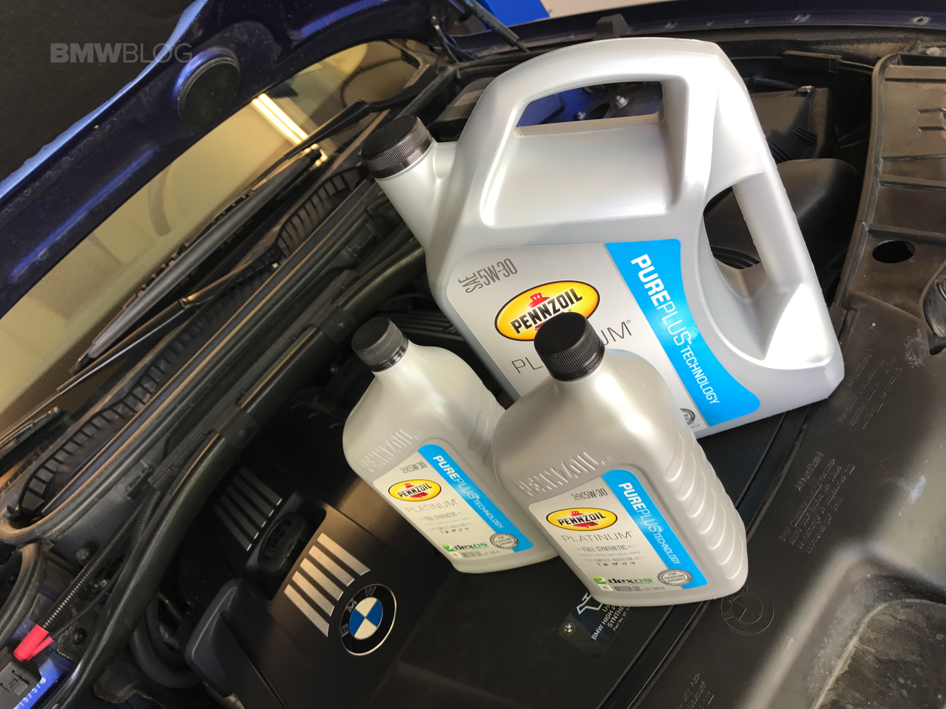 Why Choose Pennzoil For Your Bmw