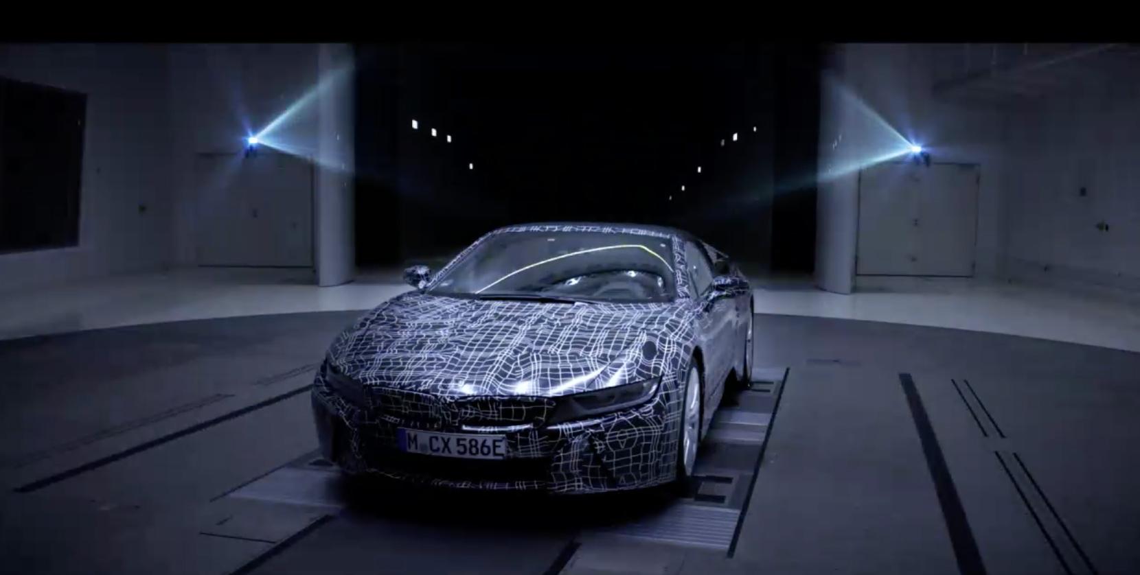BMW i8 Roadster teaser 1