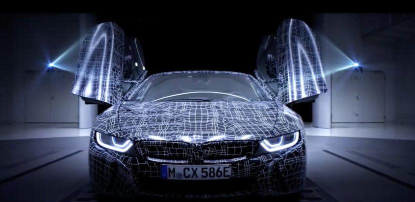 BMW i8 Roadster teaser 830x405